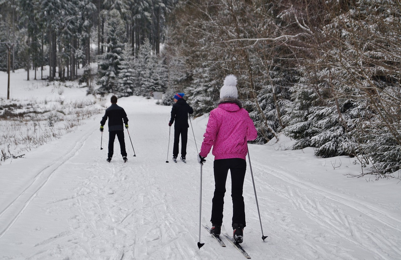 cross country ski trails