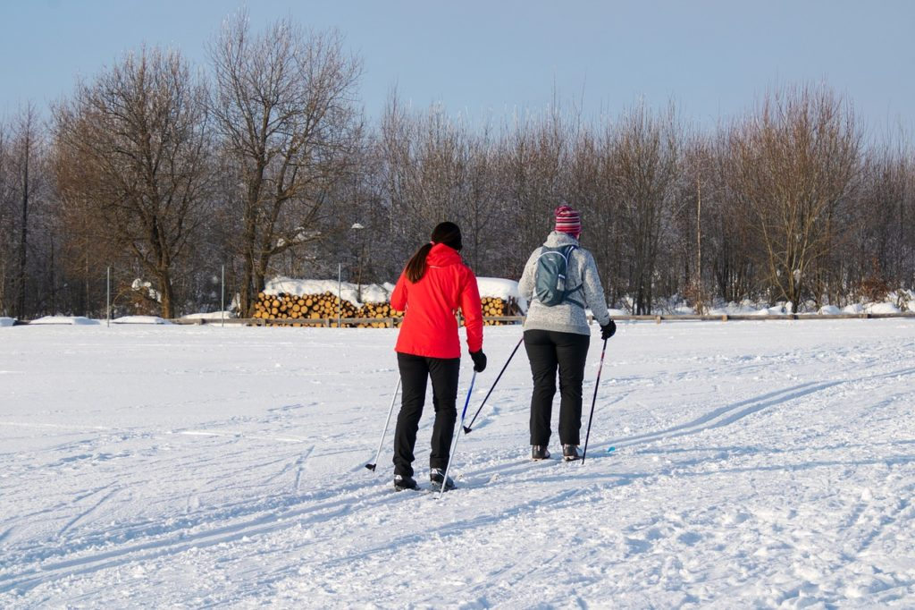 cross country skiing in grand forks