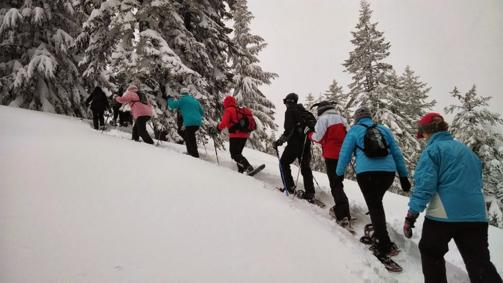 snowshoeing and other grand forks winter activities
