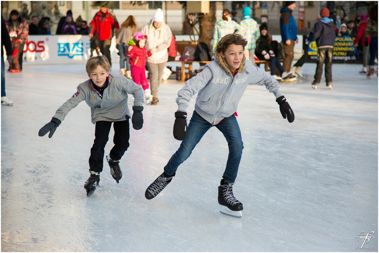 ice skating and other grand forks winter activities